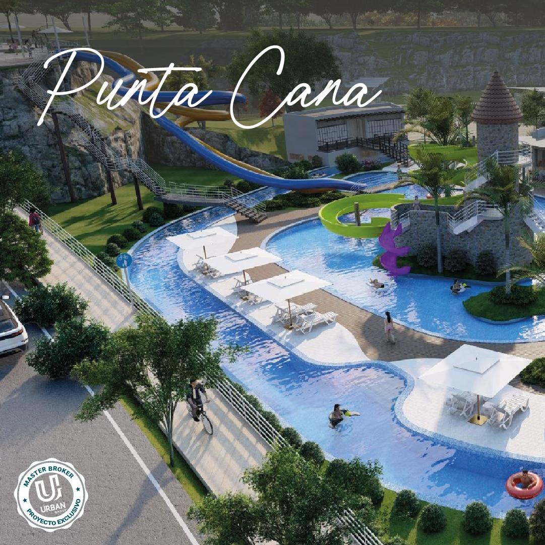 PROYECTO DE VILLAS Y APARTAMENTOS EN PUNTA CANA CON SU PROPIO PARQUE TEMATICO.