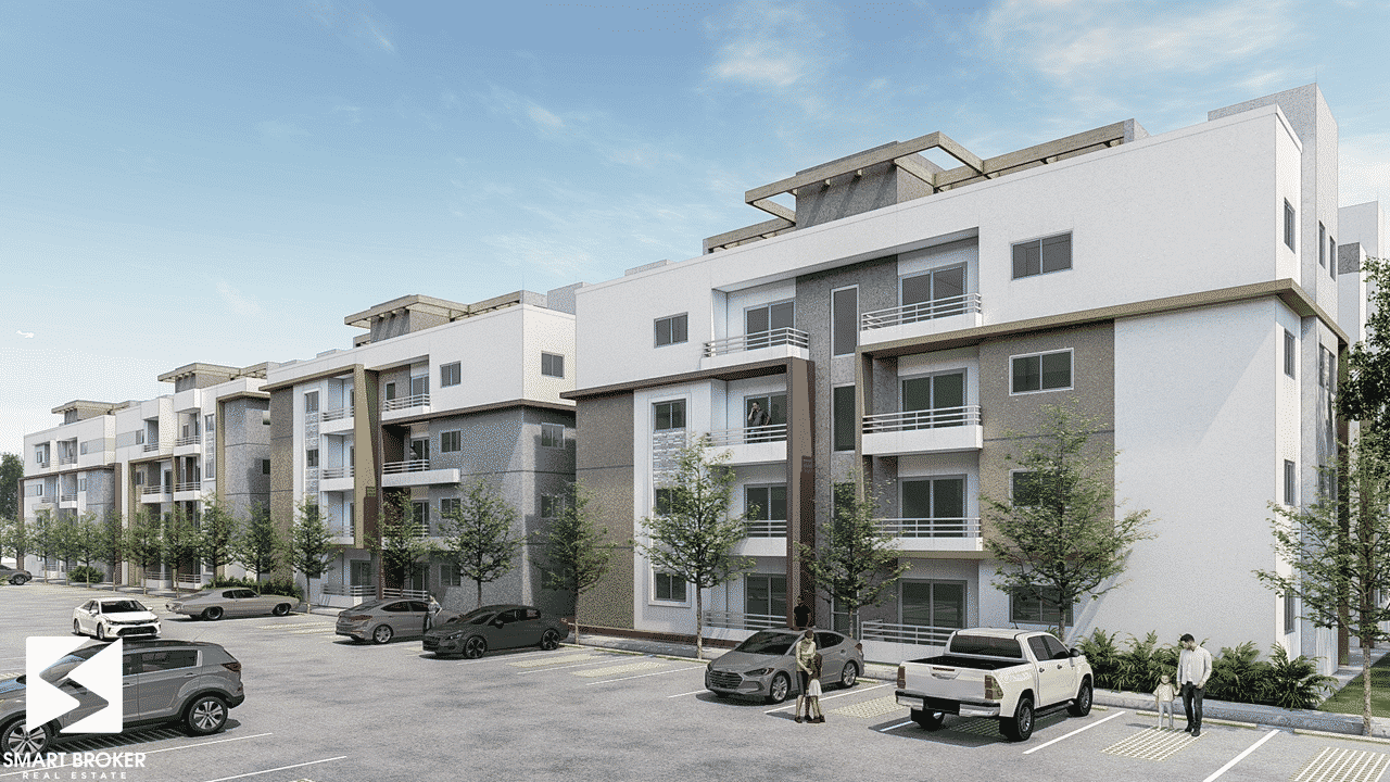 Proyecto de apartamentos económicos en la Avenida Jacobo Majluta