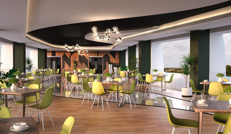 Interior CR Galaxy Restaurante