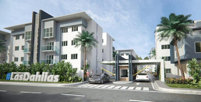Apartamento Bono Vivienda Las Dahlias Proyecto proximo Carretera Mella 4 Proyecto con Bono Vivienda Apartamentos de venta en la Carretera Mella Las Dahlias