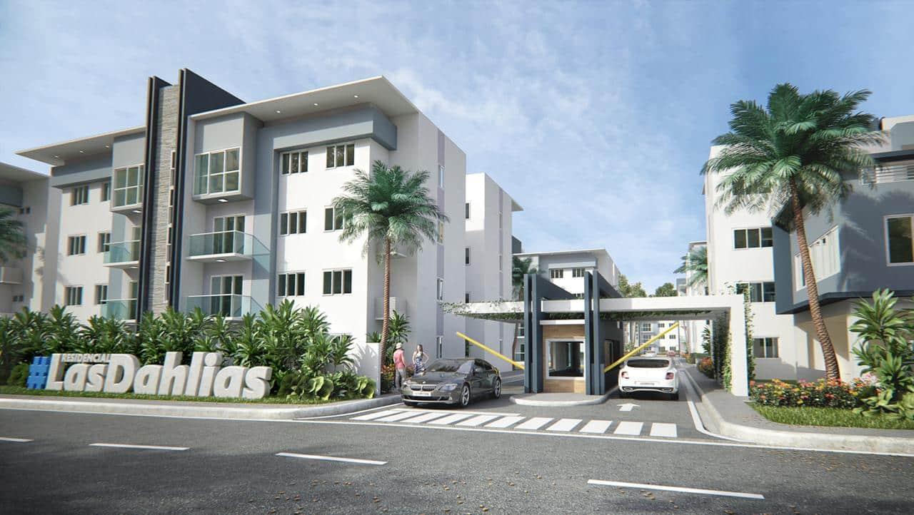 Apartamento Bono Vivienda Las Dahlias Proyecto próximo Carretera Mella