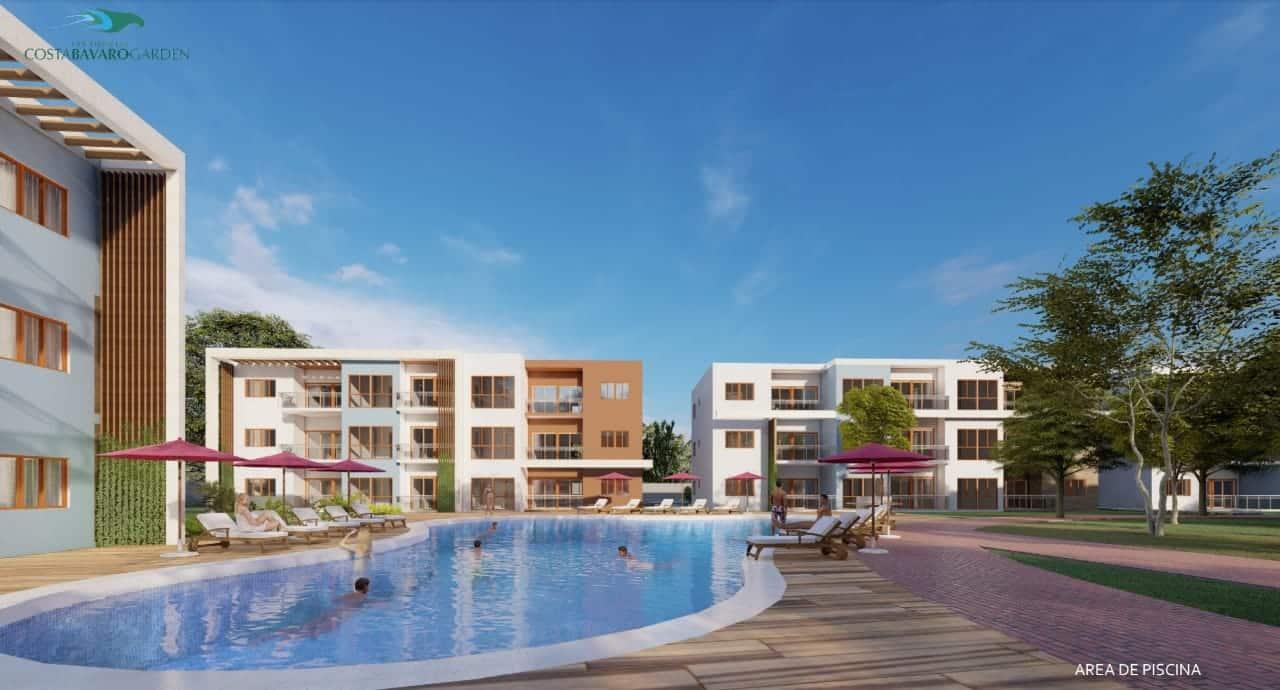 Residencial Costa Bávaro Garden, Tu Apartamento en Punta Cana