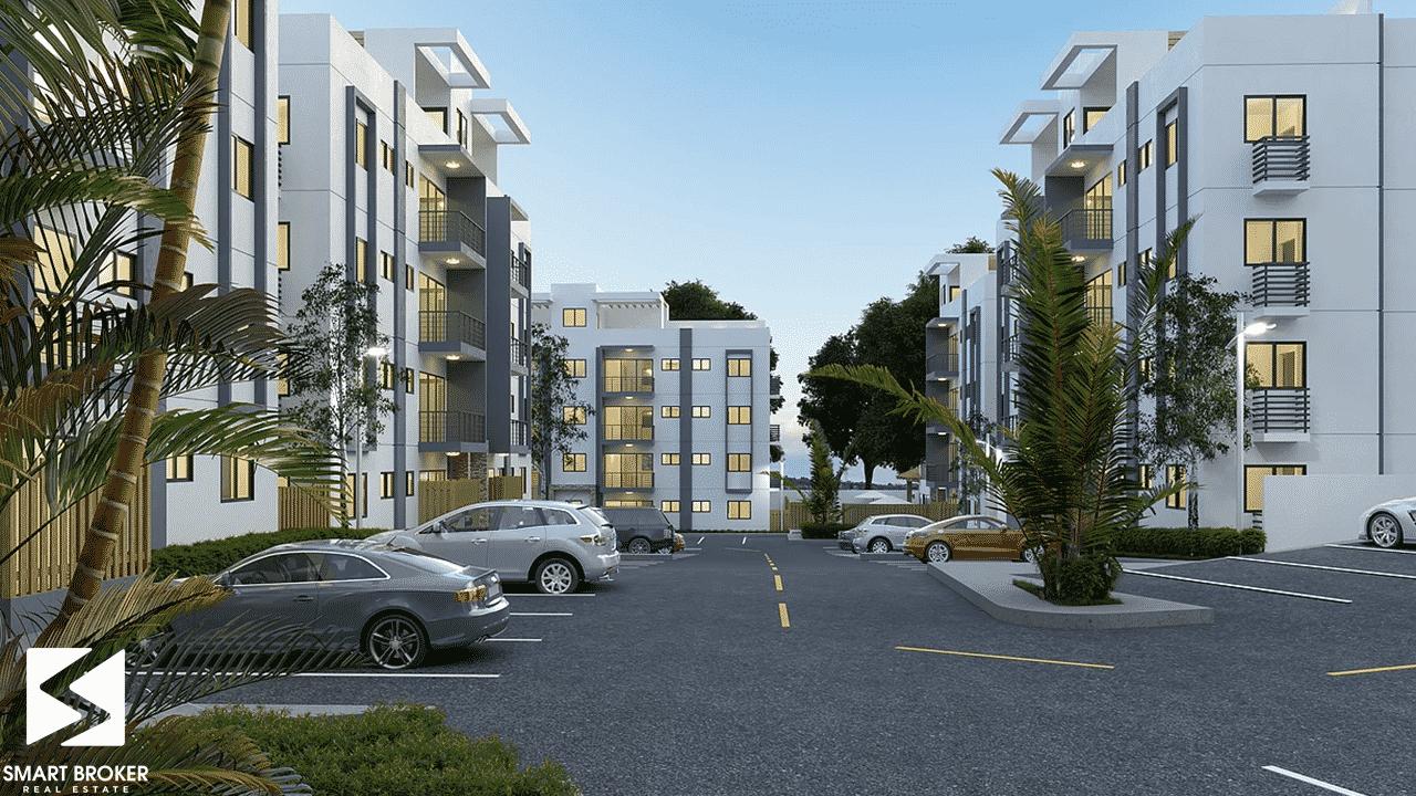 Proyecto de apartamento en la Autopista Duarte