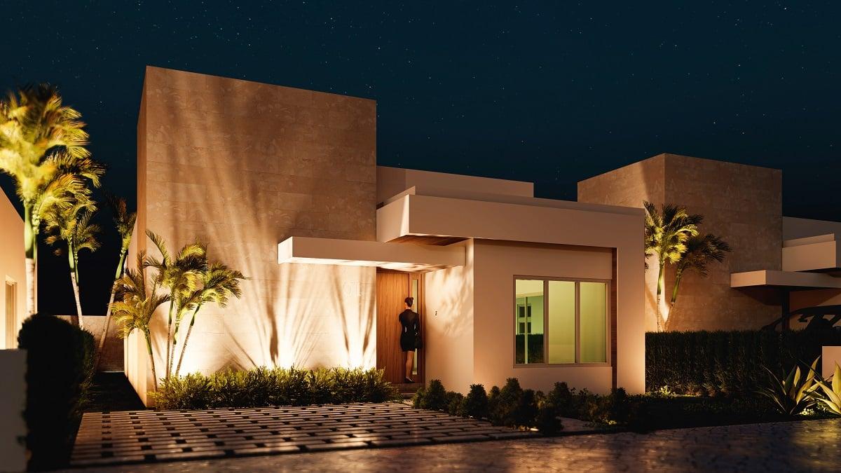 Ecos Del Mar Punta Cana Casas y Villas para vivir y disfrutar tus vacaciones US$110,000
