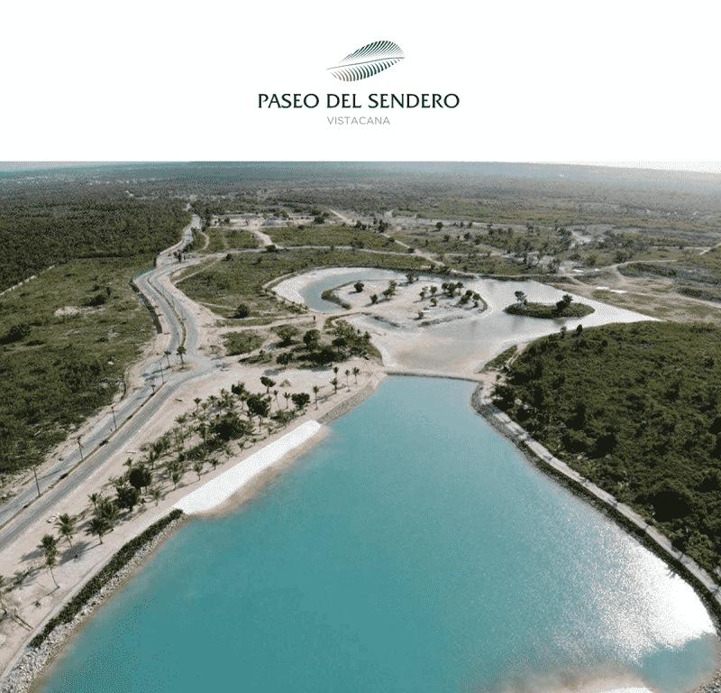 Paseo del Sendero Vista Cana y Royal Garden, Tus Solares en Bávaro Punta Cana US$70,000