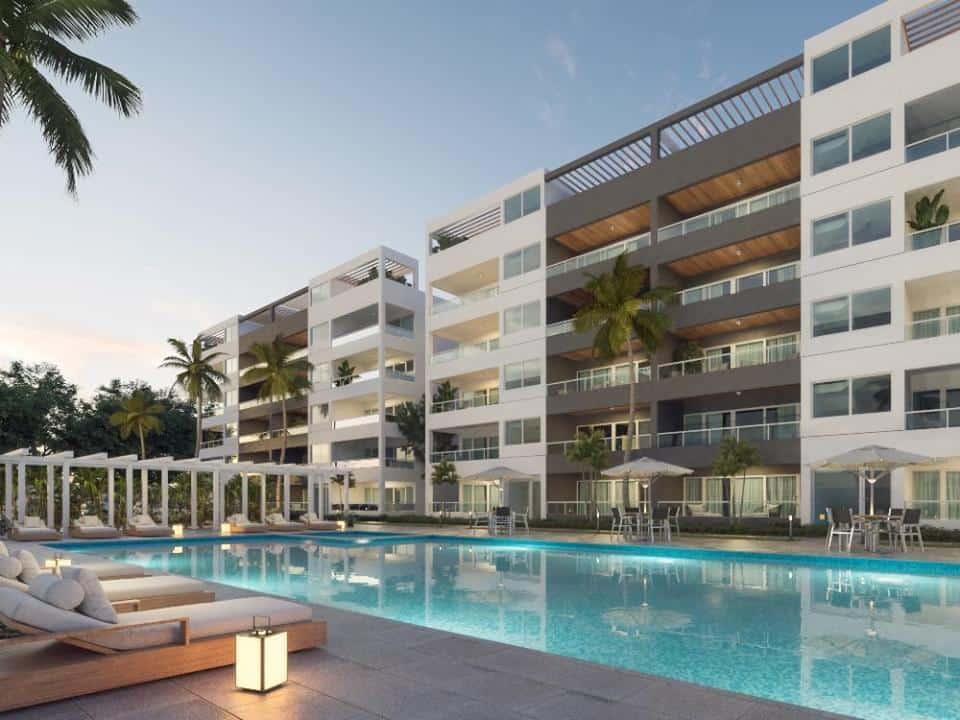 Residencial COCO BEACH Apartamentos en Punta Cana US$165,000