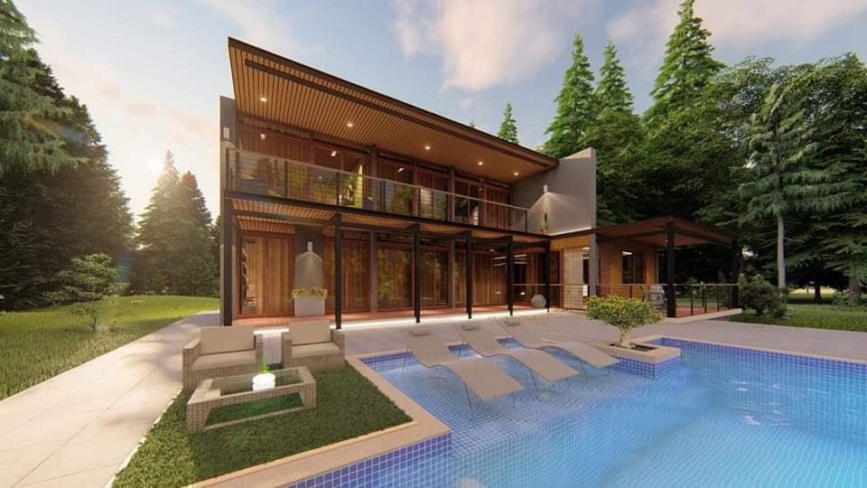 Jarabacoa, La Vega, Venta Villas lujosas, 2 y 3 Habitaciones en Planos, Construccion