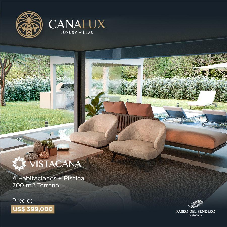 Casas y Villas de Lujo República Dominicana Canalux Punta Cana Residence US$355,000