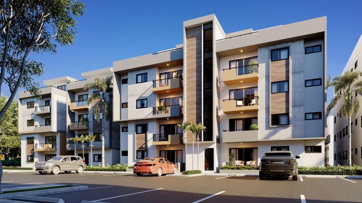 Los mejores Apartamentos en Residencial Parque del Este Autopista San Isidro US$63,999