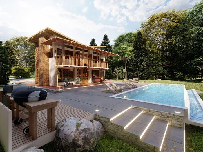 Jarabacoa, La Vega, Venta Lujosas Villas, casas, Construccion, Planos