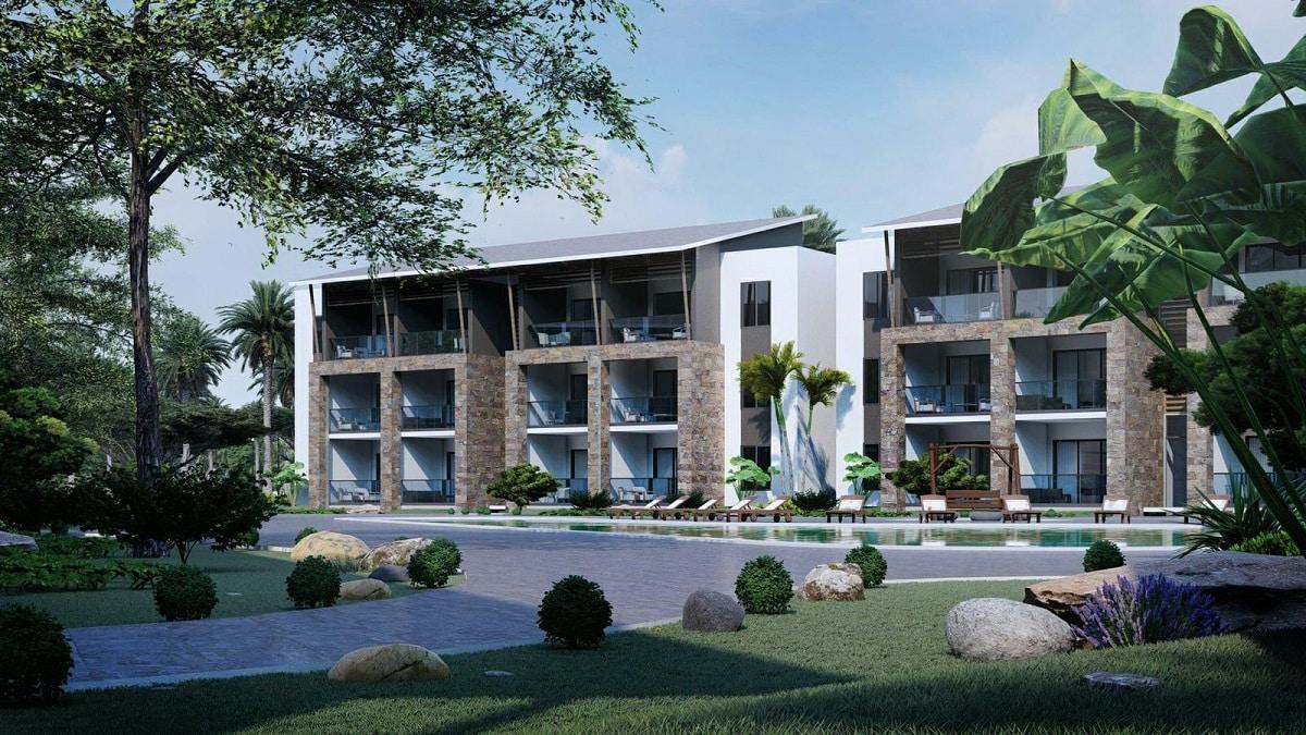 Apartamentos en Playa Nueva Romana Residencial Oasis desde US$108,003