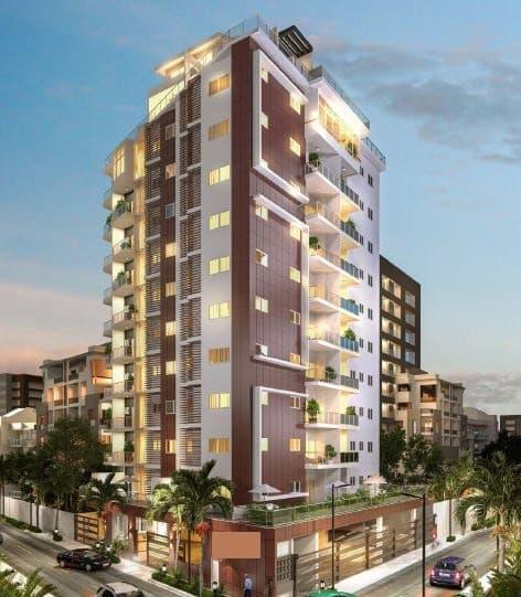 Vendo Apartamento en Moderna Torre en Evaristo Morales