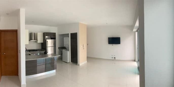 Ensanche Piantini, Alquiler Apartamento De 1 Habitación, 1 Parqueo, Línea Blanca