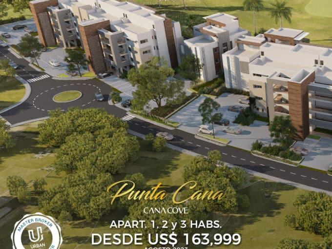 Hermosos Apartamentos justo frente al Hard Rock Punta Cana